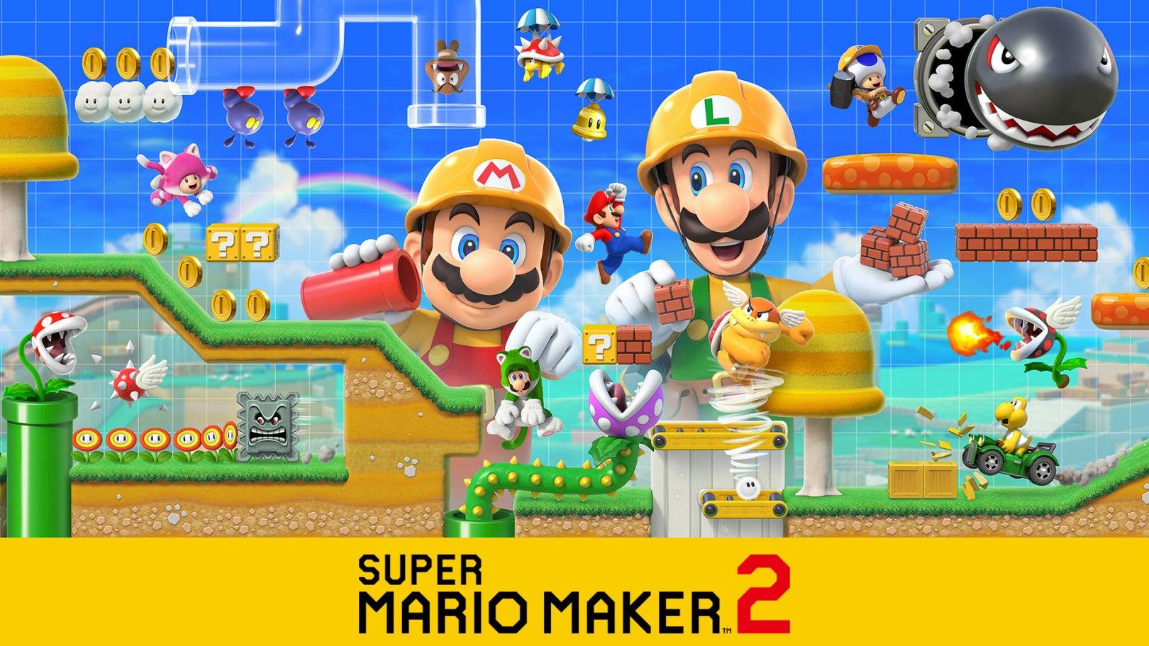 Découvrez Super Mario Maker 2 sur Nintendo Switch!
