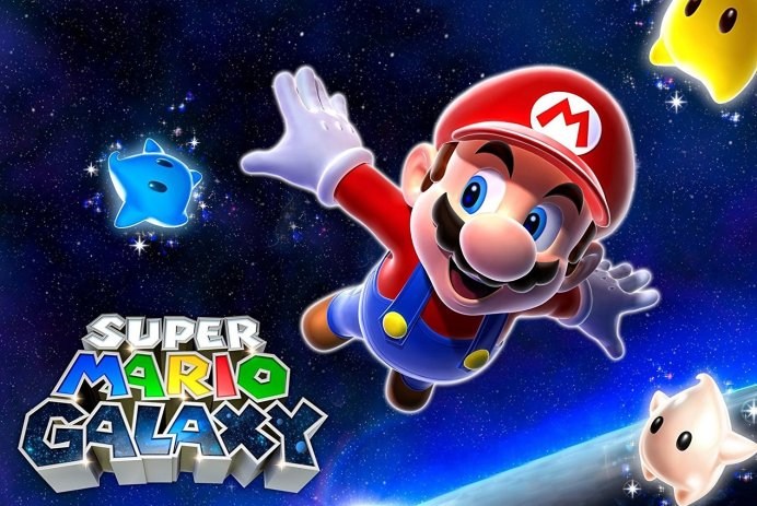 Découvrez Super Mario Galaxy sur Wii et Nintendo Switch!
