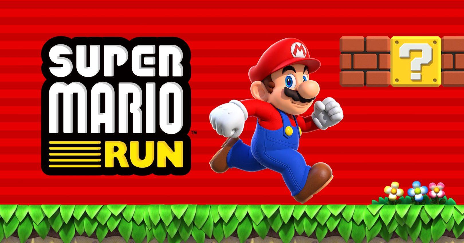 Découvrez Super Mario Run sur iOS et Android!