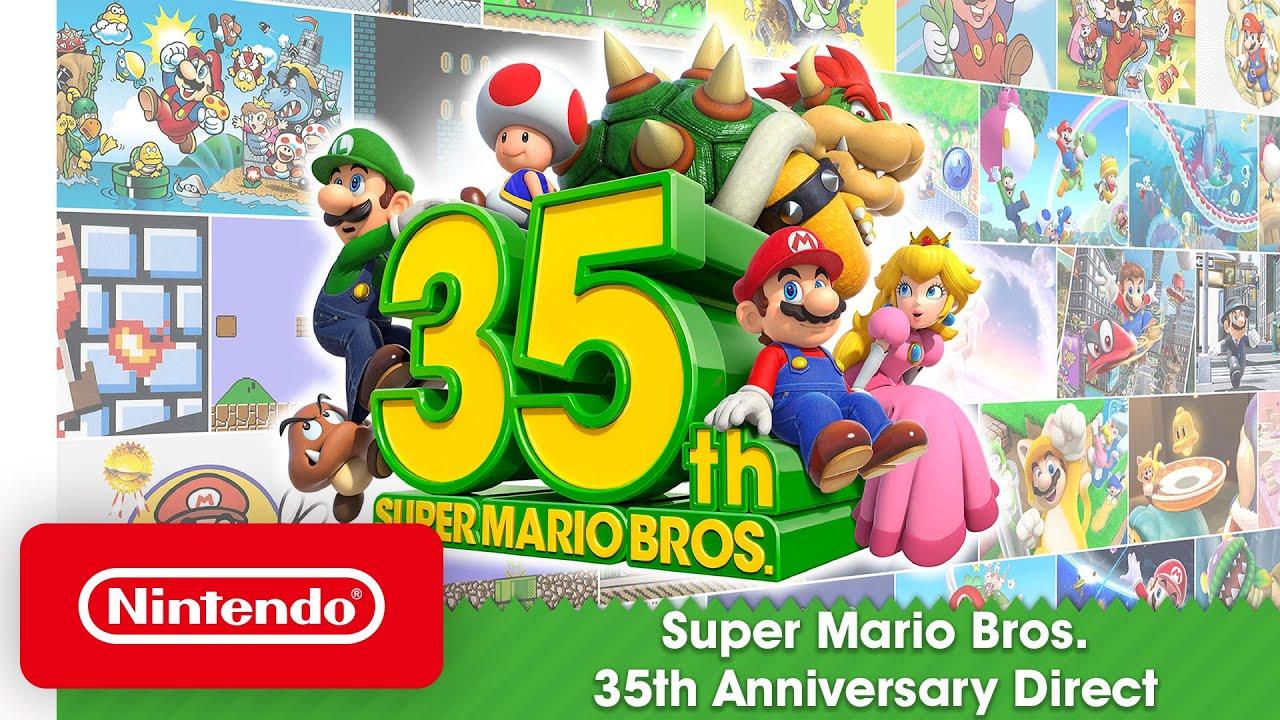 Nintendo Direct Spécial 35 ans de Mario Bros