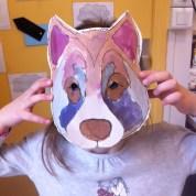 decoupage du masque par les eleves