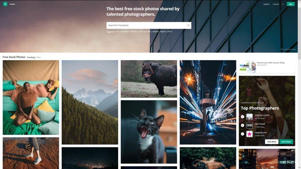 pexels - darmowe zdjęcia w wysokiej jakości dobrze otagowane