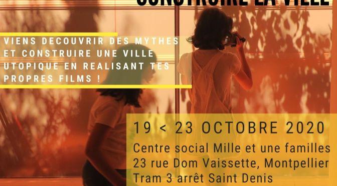 Stage vidéo jeunes 19-23 octobre