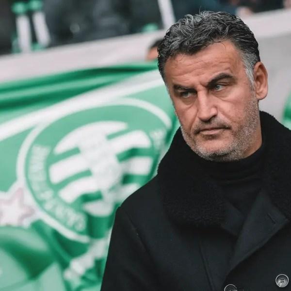 """Galtier : """"Je pense que Saint-Étienne mérite sa victoire"""""""