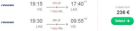 Los Angeles - Z letalom na poti