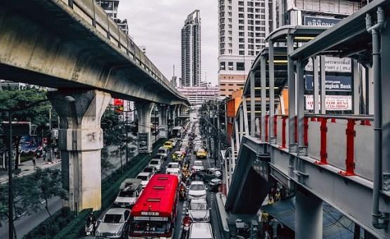 Bangkok - Z letalom na poti