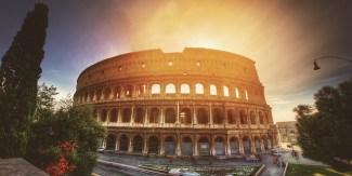 Rome - Z letalom na poti