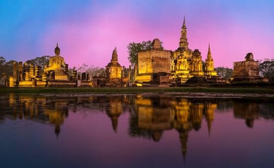 Thailand - Z letalom na poti