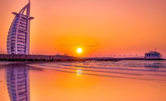 Dubai - Z letalom na poti