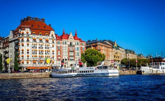 Stockholm - Z letalom na poti