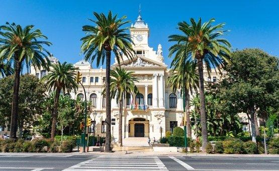 Malaga - Z letalom na poti