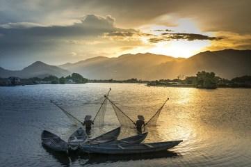 Vietnam - Z letalom na poti