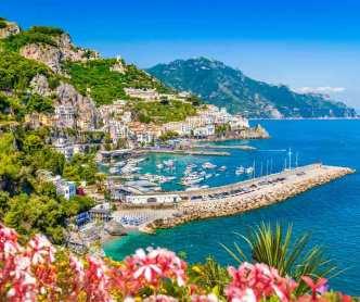 Amalfi - Z letalom na poti