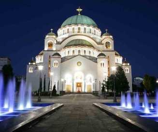 Beograd - Z letalom na poti