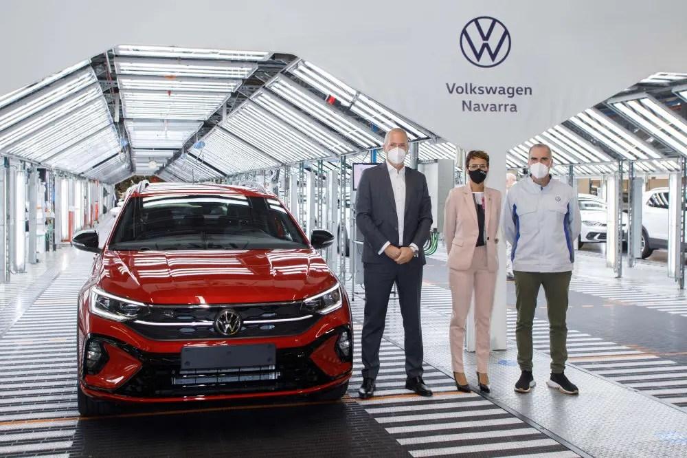 Presentación en Volkswagen Navarra de la Producción del Nuevo Taigo