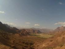 La vallée dans les couleurs du matin