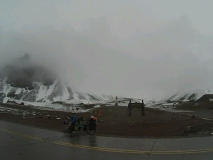 Superbe vue sur l'Aconcagua, sommet le plus haut du continent