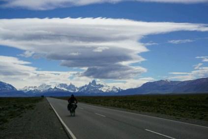 Beaucoup de vent sur la route
