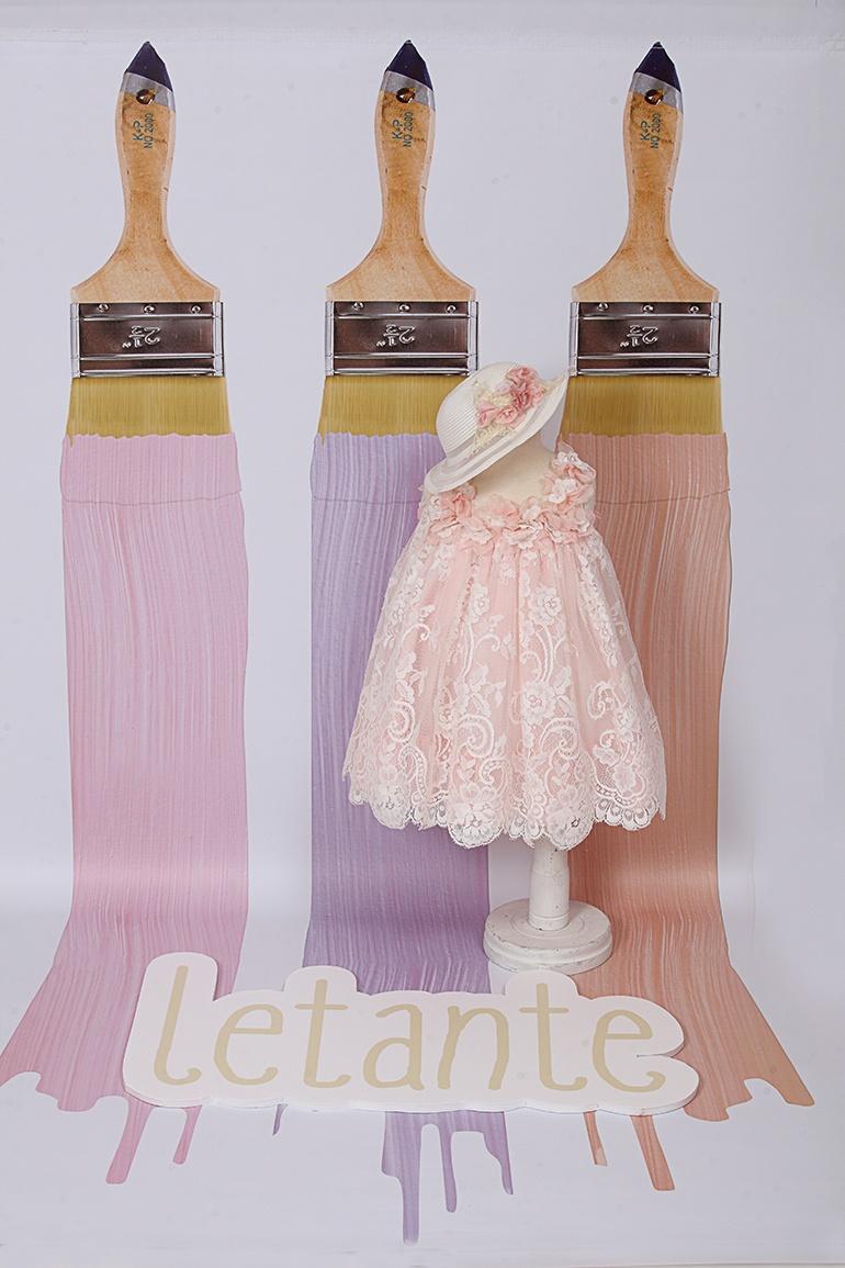 βαπτιστικό φόρεμα | letante | 8026