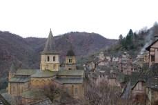 Conques, Aveyron, 23 décembre 2009, 14:05