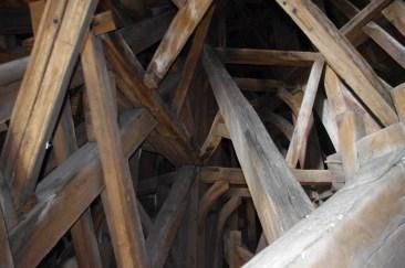 La Cathédrale d'Amiens (charpente de la flèche), Picardie, 12 juin 2012, 17:47