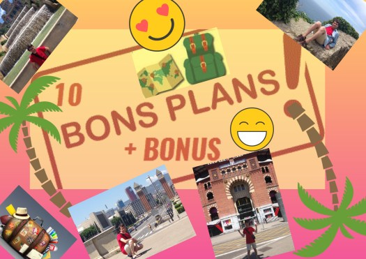 Montage photos de mes voyages : 10 bons plans + bonus
