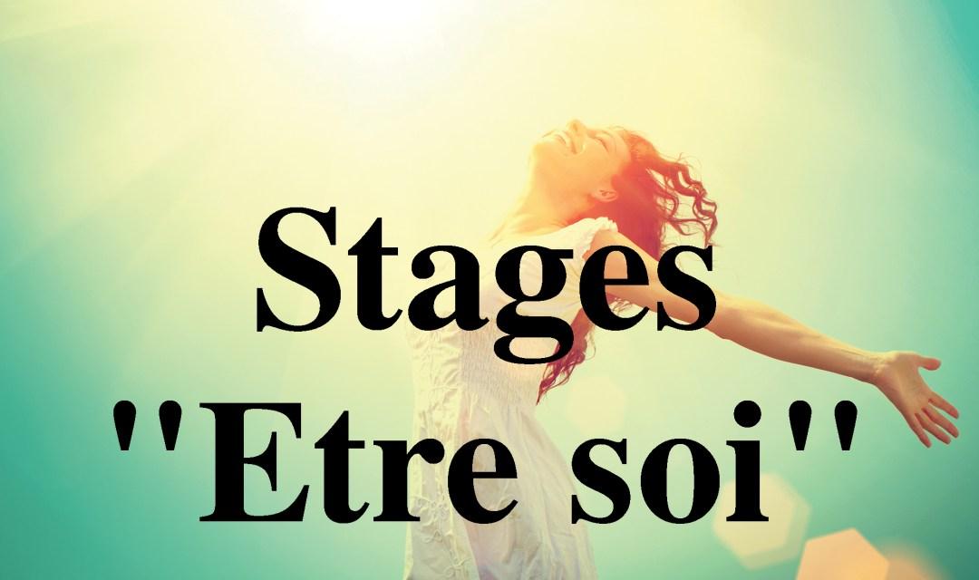 """Stages """"Etre soi"""""""
