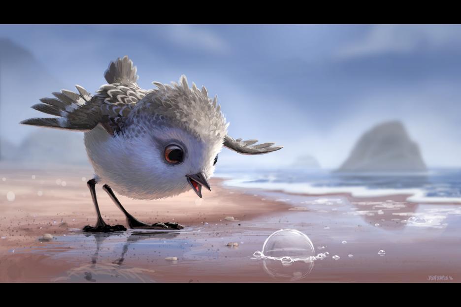 Vidéo – Métaphore animée – Sortir de sa zone de confort – «Piper»
