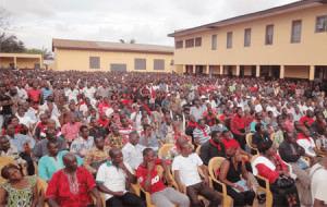 La Synergie des travailleurs du Togo en assemblée générale au Centre communautaire de Tokoin (Images d'archives)