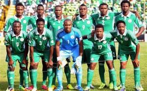 Super Eagles du Nigeria. Les champions d'Afrique sont attendus.
