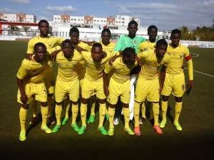 Les jeunes héros de l'équipe nationale junior du Togo