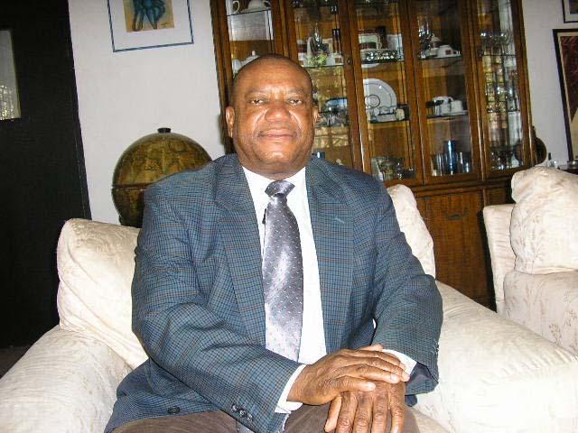 Patrick Lawson, vice-président de l'Alliance nationale pour le changement
