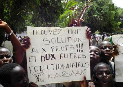 Eleves-Togo-manifestations