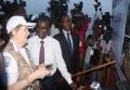 L'administrateur du PNUD, Helen Clark visite le Togo