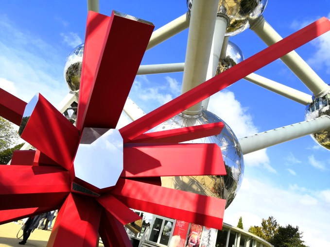 Brusel - Heysel Exhibition Park - Atomium