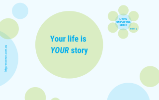 You are the storyteller of your own life