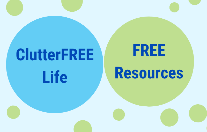 Free suppert services - life decluttering