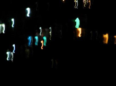 Night light in the ganj valley, Rishikesh
