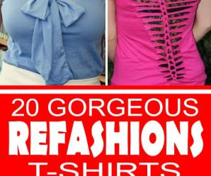 20 Awesome T-Shirt Refashions