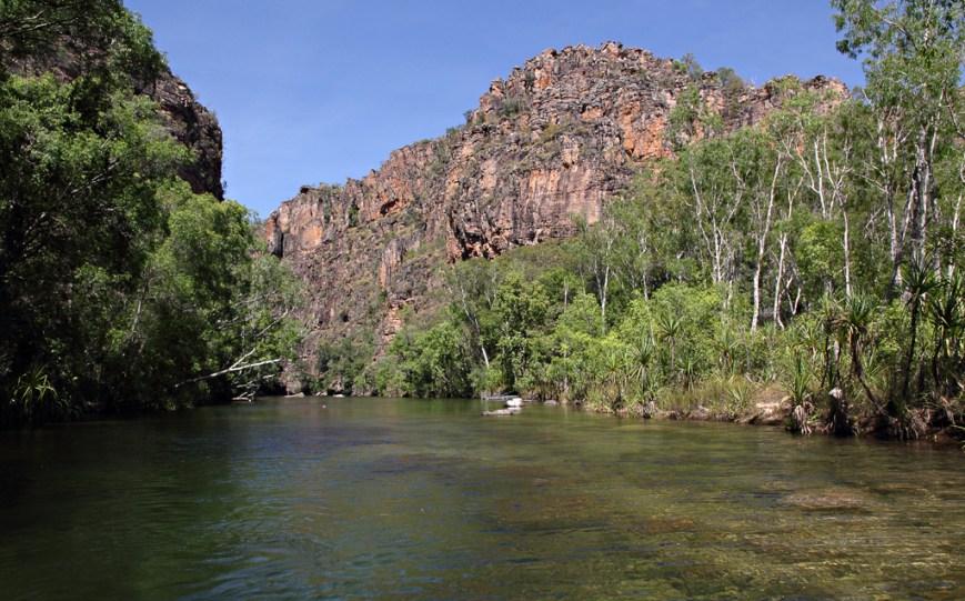 Twin-Falls-Gorge