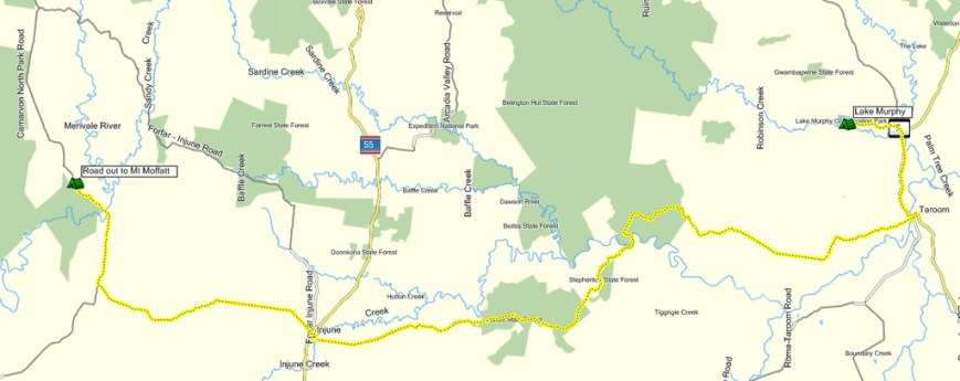 20130401 Lake Murphy to Camp