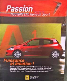 Renault+Sport+Pzssion+Magazine+#3+mars+2006