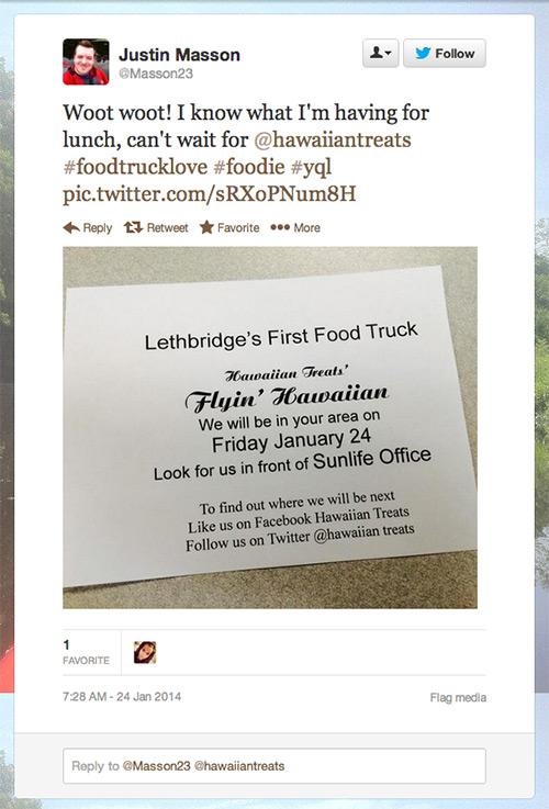Hawaiian Treats Food Truck