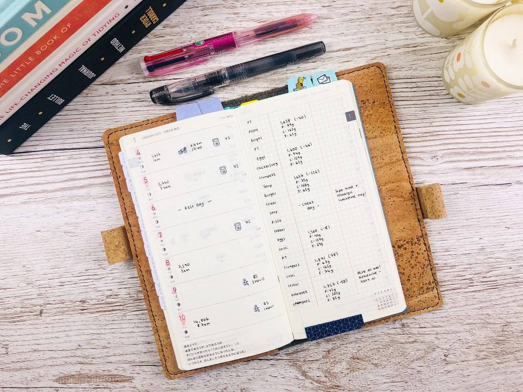 hobonichi weeks weekly spread