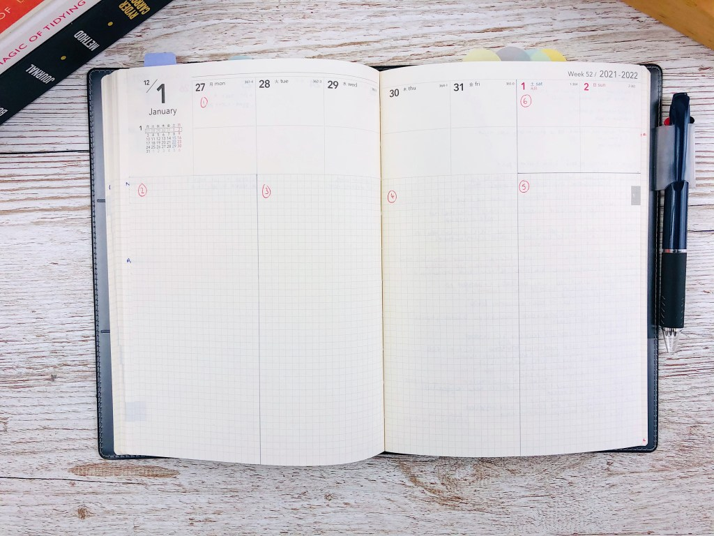 nolty weekly layout
