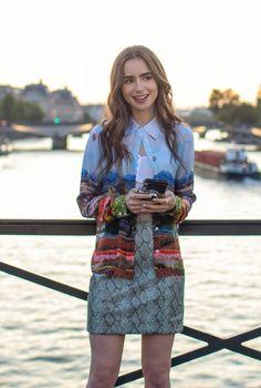 艾蜜莉在巴黎穿搭