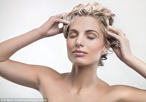 洗乾淨頭髮