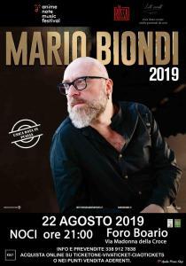 Concerto di Mario Biondi a Noci (BA) @ Nuovo Foro Boario