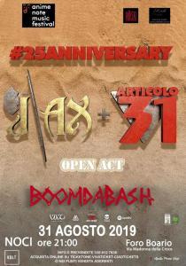 J-ax + Articolo31 +Boomdabash - concerto a Noci (BA) @ Nuovo Foro Boario