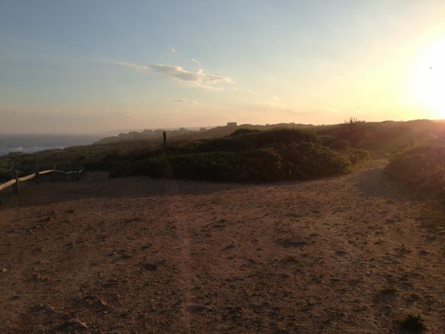 Západ slunce nad Shadmoor Parkem
